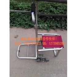 不锈钢载重6轮爬楼手拉车 带座行李车 旅行座位车 购物车图片