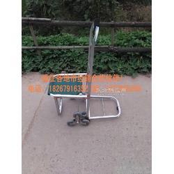 镀锌管载重6轮爬楼手拉车 多功能行李车 旅行座位车 购物车图片