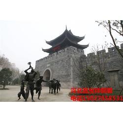 昌宝祥铜雕人物,现代人物铜雕厂家,甘肃现代人物铜雕图片