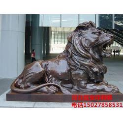 铜雕铸造厂家 铜狮子-铜狮子图片