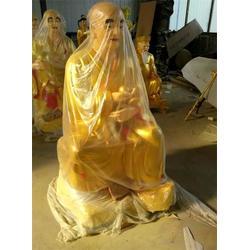 十八罗汉铜像定做、北京十八罗汉铜像、昌宝祥铜雕十八罗汉图片