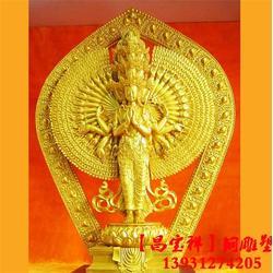 大型铜佛像定做-昌宝祥铜雕(在线咨询)大型铜佛像图片