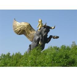 铜雕水牛|黑龙江铜雕水牛|昌宝祥铜牛厂图片