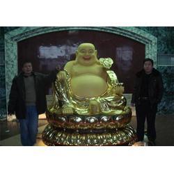 昌宝祥铜雕 弥勒佛铜像厂家定做-承德弥勒佛铜像厂家图片