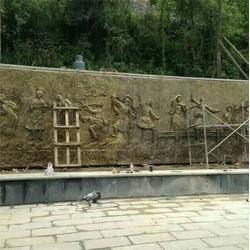景区大型铜浮雕,昌宝祥铜雕,景区铜浮雕图片