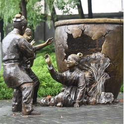 黄铜雕塑厂家|昌宝祥铜雕(在线咨询)|贵州铜雕塑厂家图片