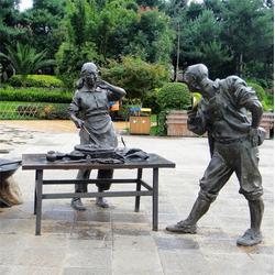 昌宝祥铜雕人物 大型人物铜雕厂-山东人物铜雕厂图片