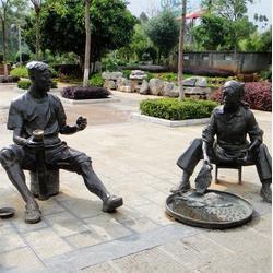 园林匠人雕塑-昌宝祥铸铜雕塑-匠人雕塑图片