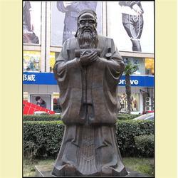 孔子铜雕定制-昌宝祥铜雕-济宁孔子铜雕图片