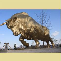 华尔街铜牛铸造-铜牛铸造-大型铜牛(查看)图片