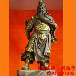 昌宝祥铜雕厂(图)|武财神关公铜像定做|山西武财神关公铜像图片