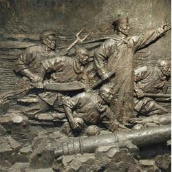 医院铜浮雕壁画,铜浮雕壁画,昌宝祥铜雕(查看)图片