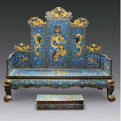 河北铜龙椅厂家-大型铜龙椅厂家-昌宝祥铜雕(优质商家)图片