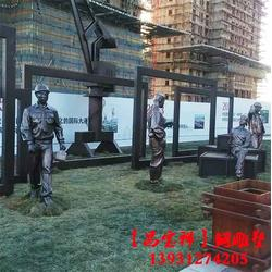 步行街雕塑_步行街人物雕塑_昌宝祥铜雕厂(优质商家)图片