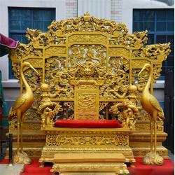 景泰蓝铜龙椅厂家-昌宝祥铜雕-福建铜龙椅厂家价格