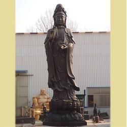 铜观音佛像厂家-昌宝祥铜雕观音-铜观音佛像图片
