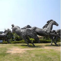 大型铜马雕塑-铜马厂家-铜马雕塑图片