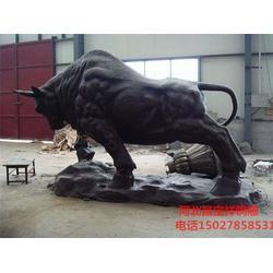 廣場銅牛雕塑-昌寶祥銅雕-銅牛雕塑圖片