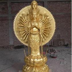 千手观音铜像生产厂-千手观音铜像-昌宝祥铜雕厂图片