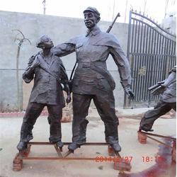 军人雕塑定制-昌宝祥铜雕定做-军人雕塑图片