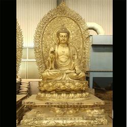 巨型三世佛铜像-三世佛铜像-昌宝祥铜雕(查看)图片