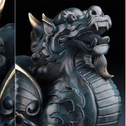 銅貔貅擺件廠家-淄博銅貔貅廠家-昌寶祥銅雕(查看)圖片