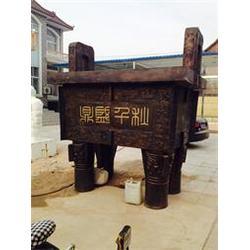 江苏青铜鼎|领航工艺品|大型青铜鼎制作图片