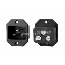 20A品字尾插座 IEC标准插座图片