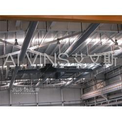 布袋风管在食品厂房设计应用图片