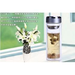 水杯、诗如意、玻璃水杯可以装热水吗图片