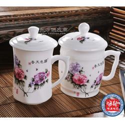 供应彩绘陶瓷茶杯 陶瓷礼品杯图片
