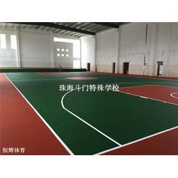 恒辉体育设施 弹性丙烯酸球场-丙烯酸球场图片
