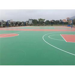恒辉体育(图)|弹性好运动舒适、易维护|义马市硅PU球场图片