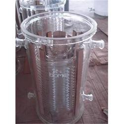 玻璃列管冷凝器多少钱-玻璃列管冷凝器-山东玻美玻璃公司图片