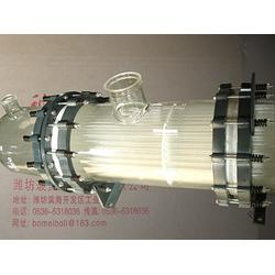 雅安玻璃列管冷凝器 玻璃列管冷凝器多少钱 山东玻美玻璃图片
