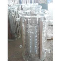 玻璃列管冷凝器厂家|江西玻璃列管冷凝器|山东玻美玻璃厂图片