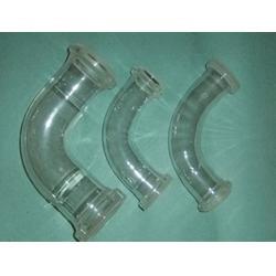 化工玻璃管道质量好-山东玻美玻璃-辖兴庆区化工玻璃管道图片