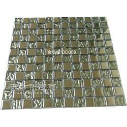 厂家直销 电镀彩色金属马赛克 玻璃金属马赛克图片
