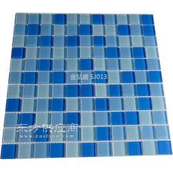大名县水晶马赛克游泳池工程三色水晶瓷砖-招商图片