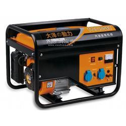 电启动8KW三相汽油发电机图片