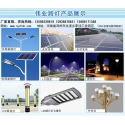 漯河路灯,邓州伟业太阳能路灯技术更专业厂家直销,路灯图片