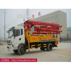 华一专汽厂价直销26米-31米单桥小型混凝土泵车正宗国四排放图片
