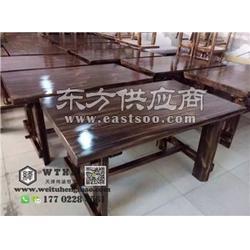 老门板榆木桌子 水货老门板榆木桌子图片