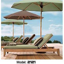 日照实木躺椅、酒店实木躺椅、景丽户外家具图片