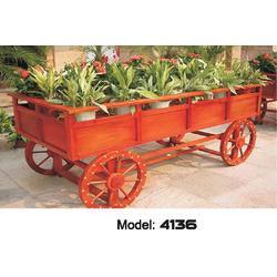 高要市花车花箱、木制花车花箱、景丽户外家具(优质商家)图片