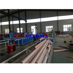 pvc水管生产,德尔玛塑机,pvc水管生产厂图片