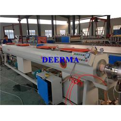 德尔玛塑机、pvc供水管、pvc供水管生产线图片
