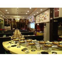 东晟餐饮机械、淄博旋转火锅设备、旋转火锅设备生产图片