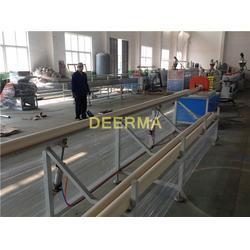 pvc管生产技术,德尔玛塑机,pvc管生产图片