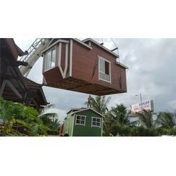 轻钢木结构-木结构-彬洲实业厂家图片